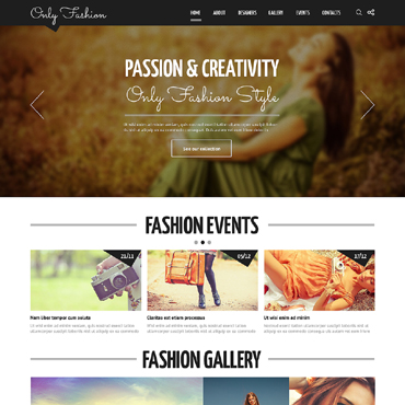 Website Template № 48541