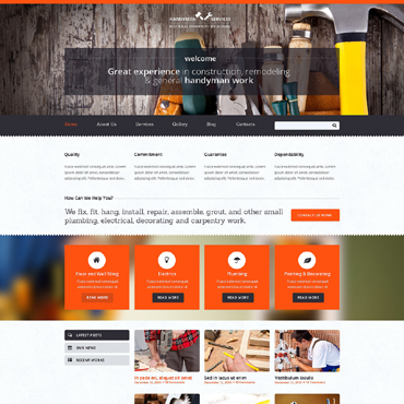 Website Template № 48543