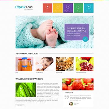 Template Mâncare și băutură HTML, JS şi CSS #48554