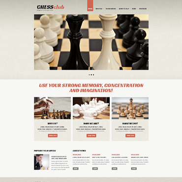 Website Template № 48589