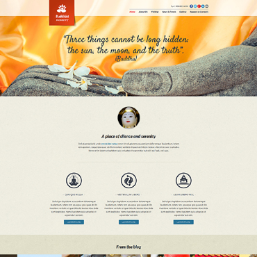 Website Template № 48640