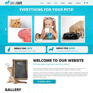 Website Template № 48643