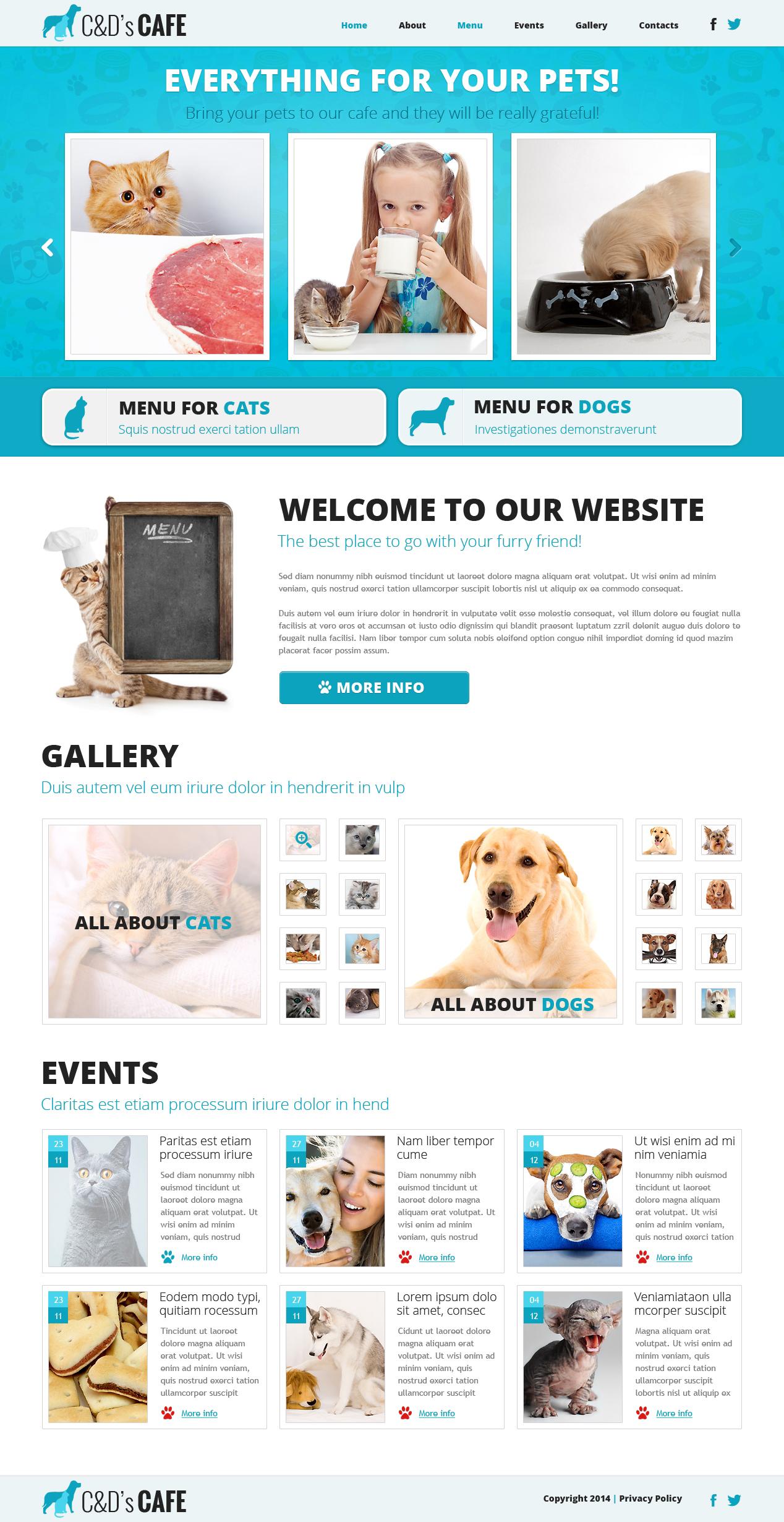 Pet Shop Responsive Joomla Template
