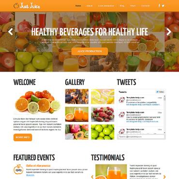 Template Mâncare și băutură Joomla #48671