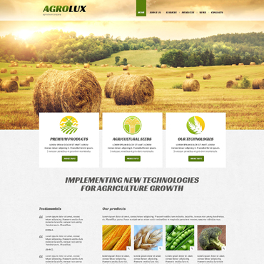 Website Template № 48672