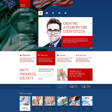 Website Template № 48674