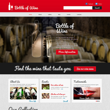 Website Template № 48696
