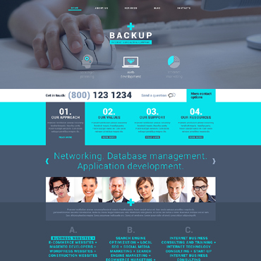 Website Template № 48710