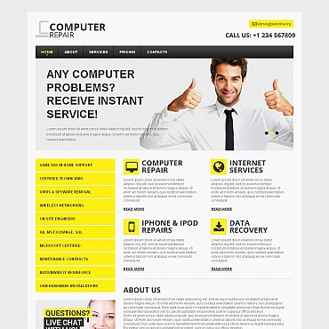 Website Template № 48726