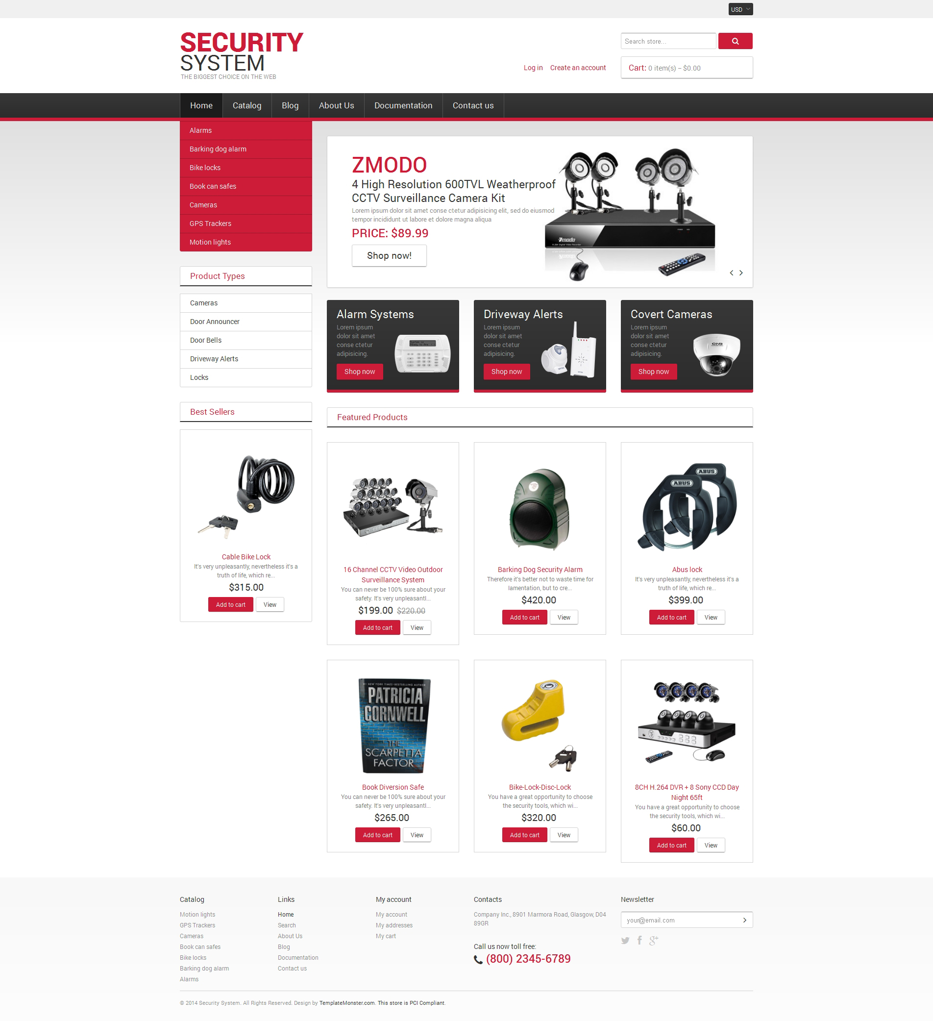 Locksmith Responsive Shopify Theme