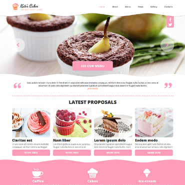 Website Template № 48763