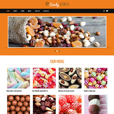 Website Template № 48764