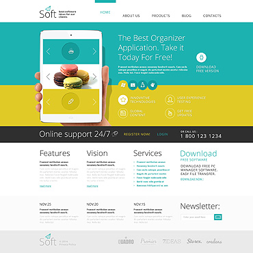 Website Template № 48765