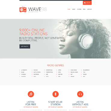 Website Template № 48806