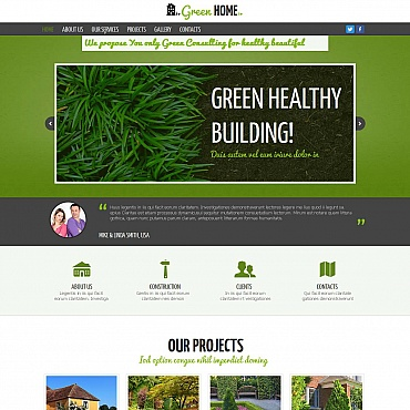 Website Template № 48865