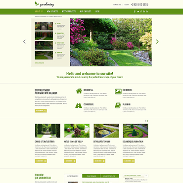 Website Template № 48960