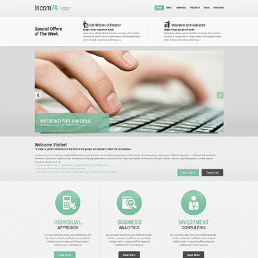 Website Template № 48973