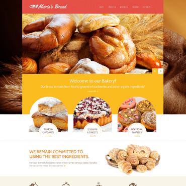 Template Mâncare și băutură HTML, JS şi CSS #48985