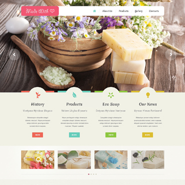 Website Template № 48988
