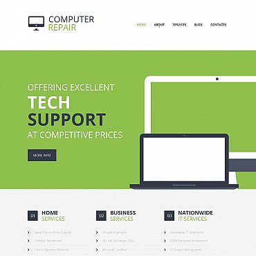 Website Template № 49027
