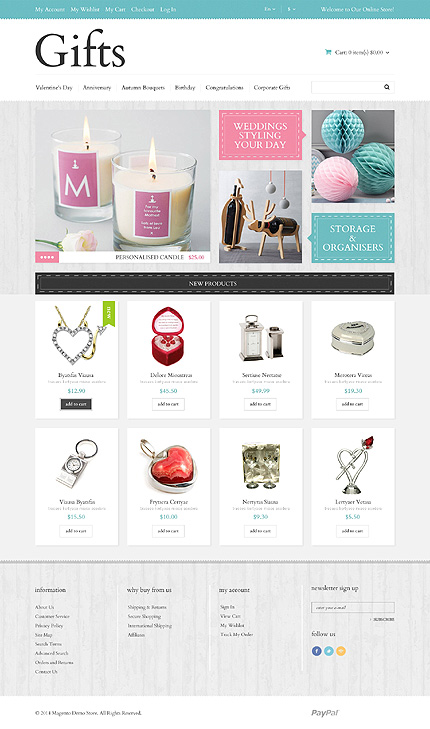 Template 49061 for Magento community templates
