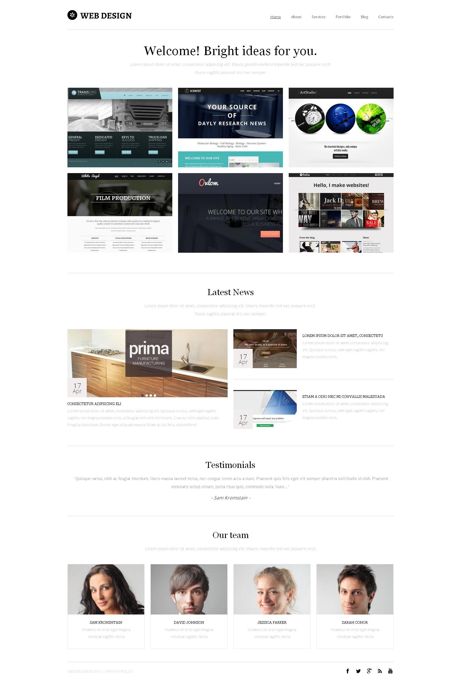 Design Studio Drupal Template