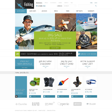 Website Template № 49201