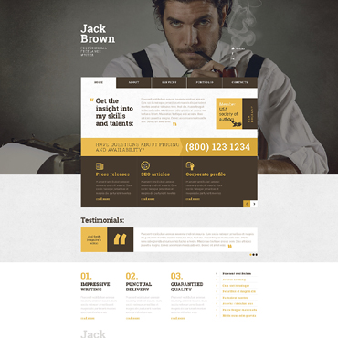 Website Template № 49206