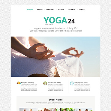 Website Template № 49215