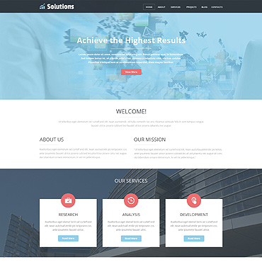 Website Template № 49216