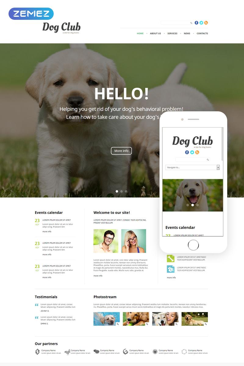 template 49255   dog club
