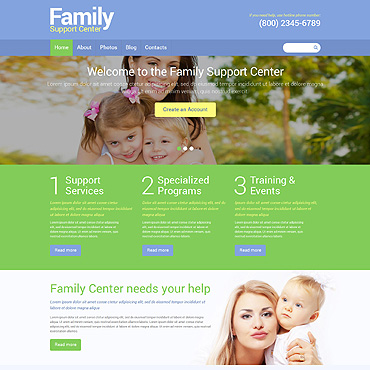 Website Template № 49341