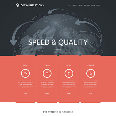 Website Template № 49345