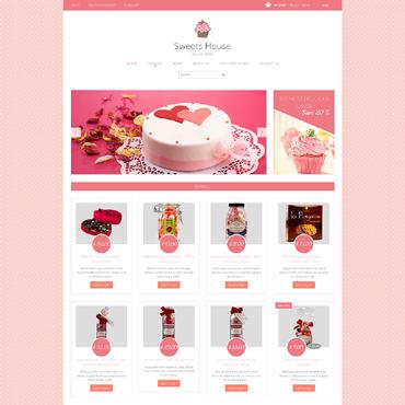 Template Mâncare și băutură Shopify #49363
