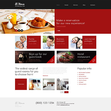 Website Template № 49401
