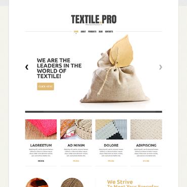 Template Industriale Joomla #49484
