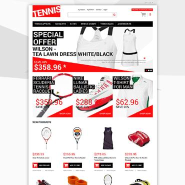 Template Sport Magento #50118