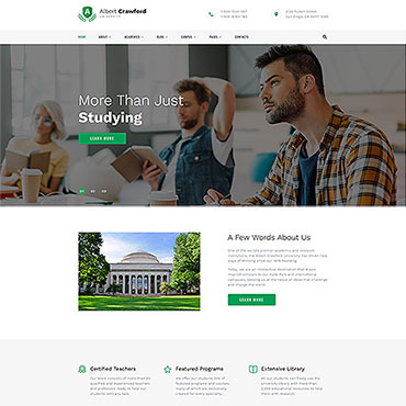 Website Template № 50454