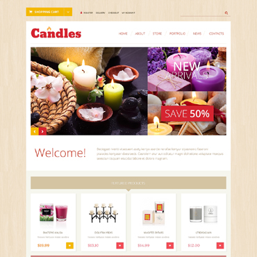 Website Template № 50472