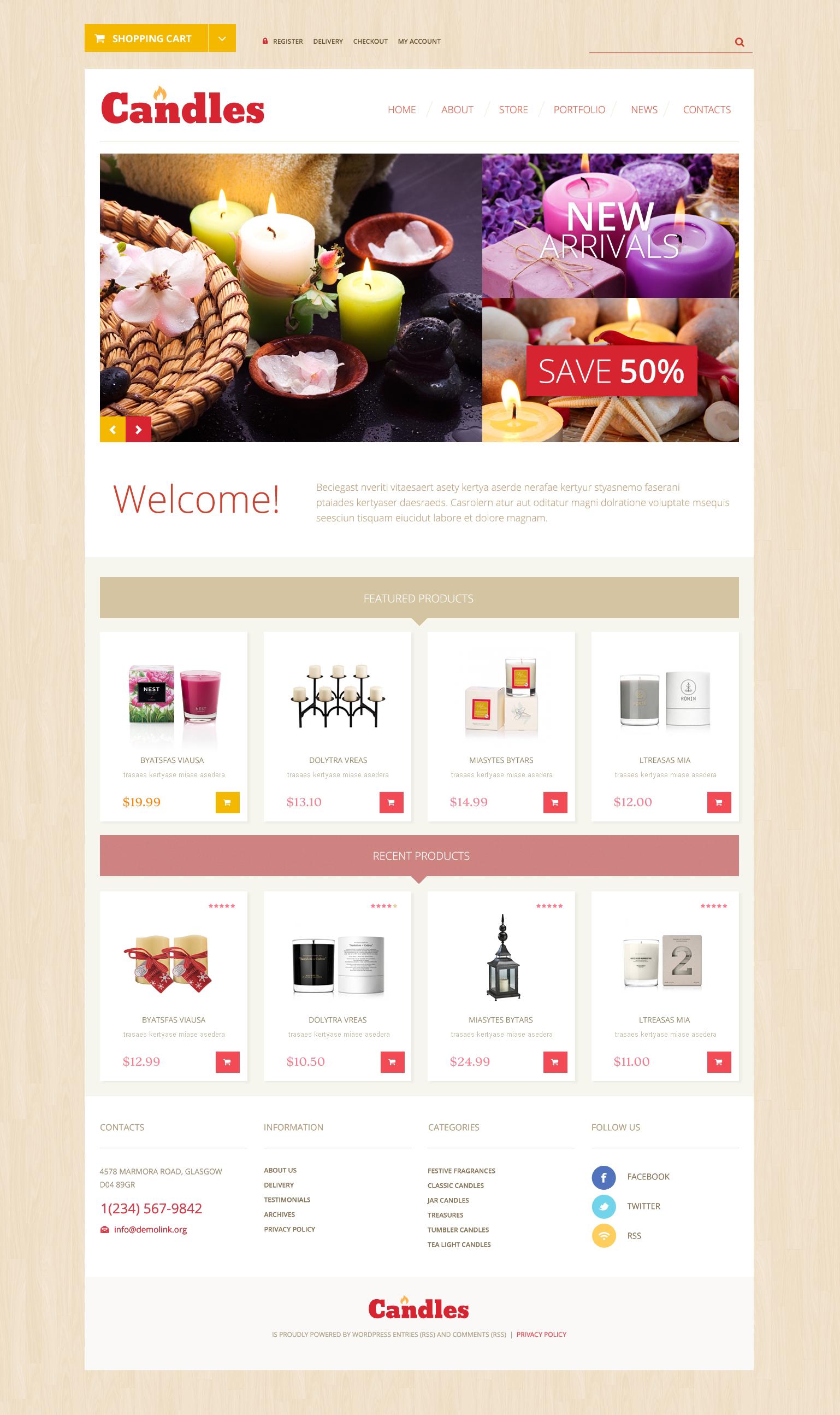 Array WooCommerce Theme