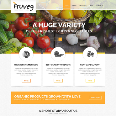 Website Template № 50489