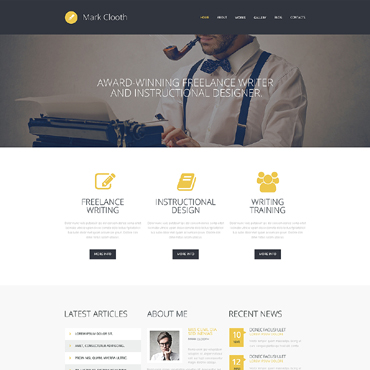 Website Template № 50495