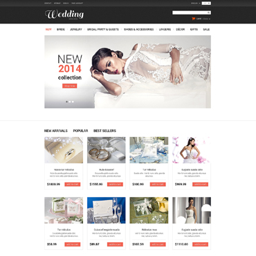 Website Template № 50521