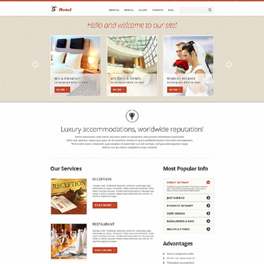 Website Template № 50591