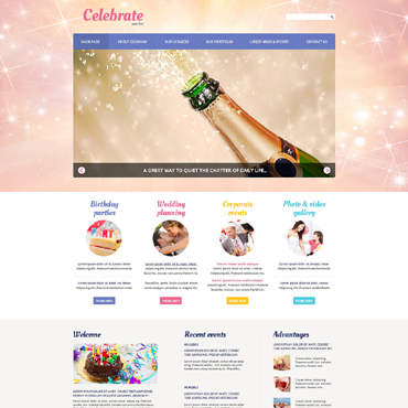 Website Template № 50598