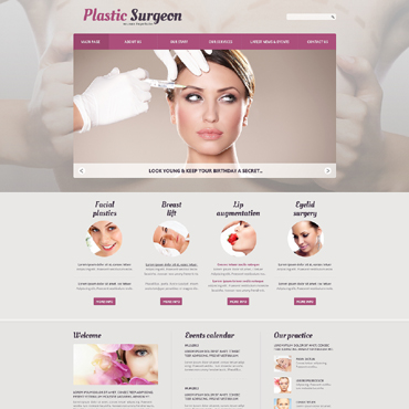 Website Template № 50600