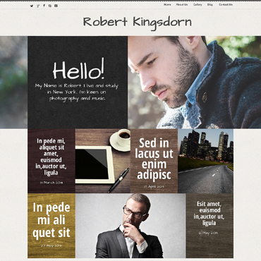 Website Template № 50663