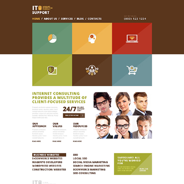 Website Template № 50666