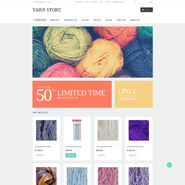 Website Template № 50694