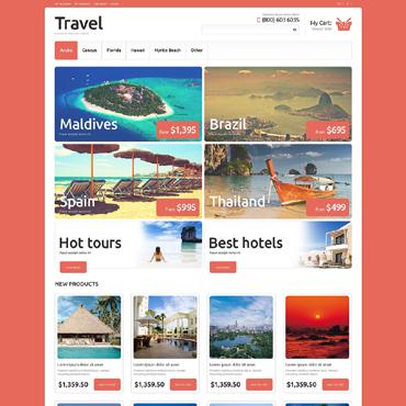 Template Turism Magento #50702